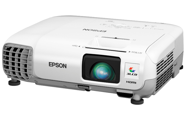 Epson PowerLite 99W Portable Projector, USED, Less than 20% Lamp Life Remaining