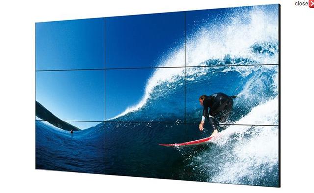 Sharp PN-V602 60in. Ultra-Slim Bezel Video Wall Monitor