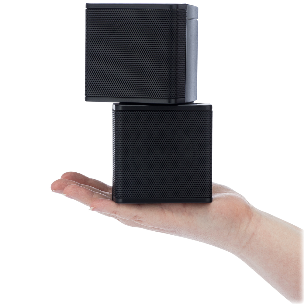 Pure Resonance Audio MC2.5B Pure Resonance Mini Cube Speaker Pair