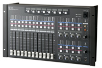 TOA Q-D-2012C 6U Rack Mountable Remote Console Unit