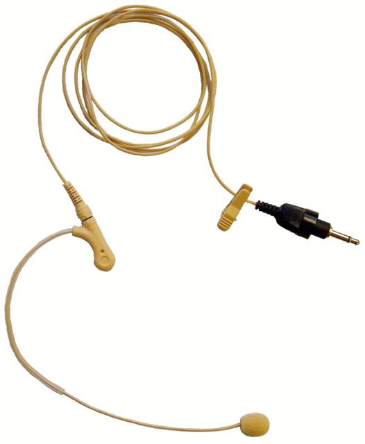 TOA Q-EM-77 Single Ear Wired Microphone