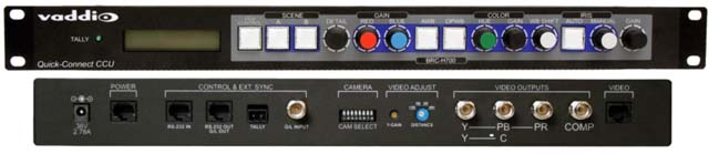 High Definition Pan/Tilt/Zoom Camera Control Unit Based on Sony BRC-H700