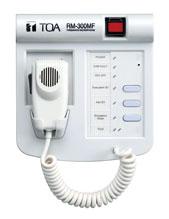 TOA RM-300MF Emergency Fireman Microphone