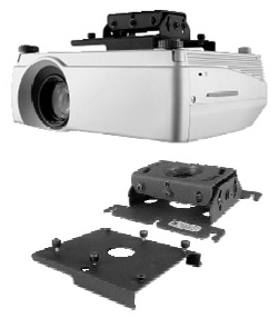 Chief RPA301 Custom RPA Projector Mount (Black)
