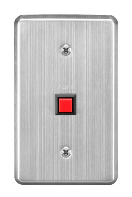 TOA RS-143 IP Intercom Switch Panel, Single Call Button