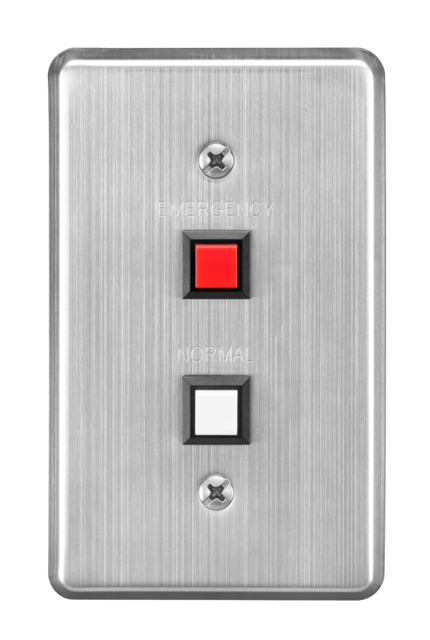 TOA RS-144 IP Intercom Switch Panel, Dual Call Button