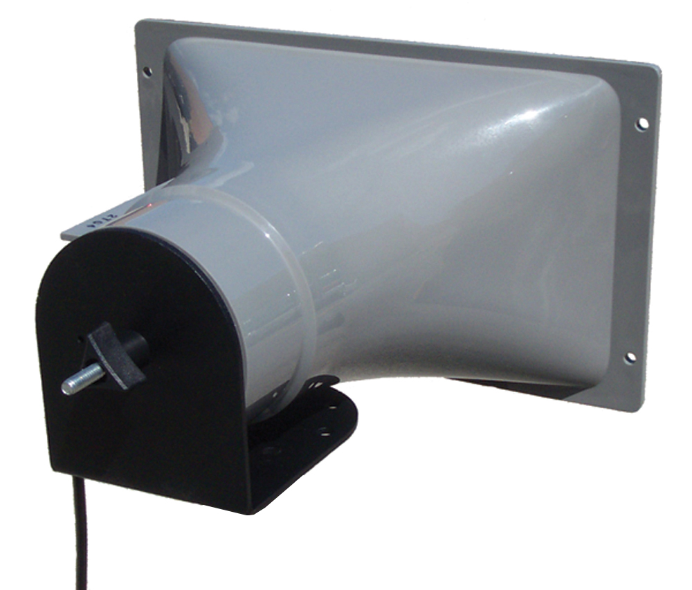 AmpliVox S1265 Add-on Horn Speaker, Top Stacking Mount