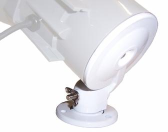 AmpliVox S1267 Horn Speaker, Adjustable Wall Mounting Bracket
