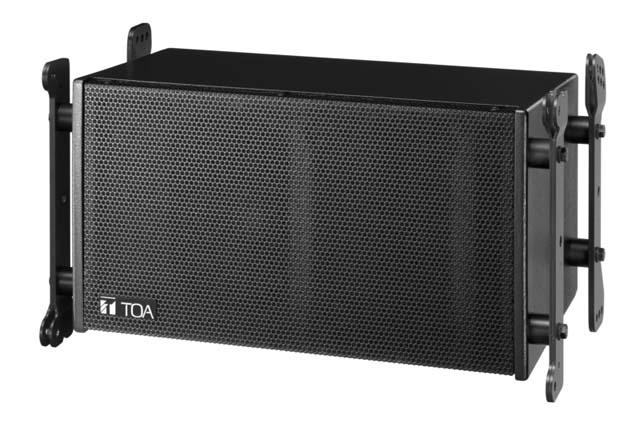 TOA SR-C8L Compact Line Array Speaker, 5 deg. Vertical