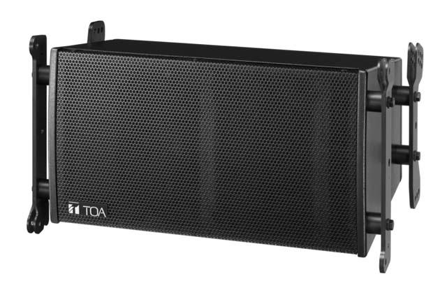 TOA SR-C8S Compact Line Array Speaker, 15 deg. Vertical