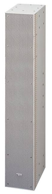 Toa Electronics SR-S4LWP Slim-Line Array Speaker (White)