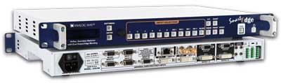 Analog Way STE100 Smart Edge: Seamless Switcher, Dual Output Edge Blending