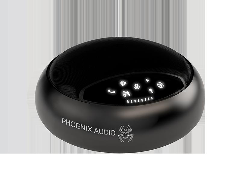 Phoenix MT503 Smart Spider USB Conference Station - Black