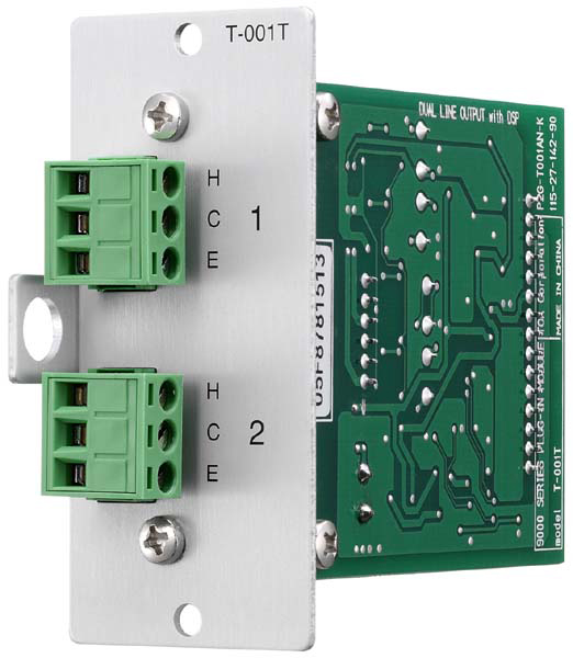 TOA T-001T Dual Line Output Expansion DSP Module