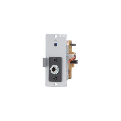 Toa Electronics U-01P Unbalanced Line Input Module for 900 Series