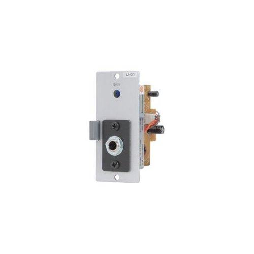 Toa Electronics U-01R Unbalanced Line Input Module for 900 Series