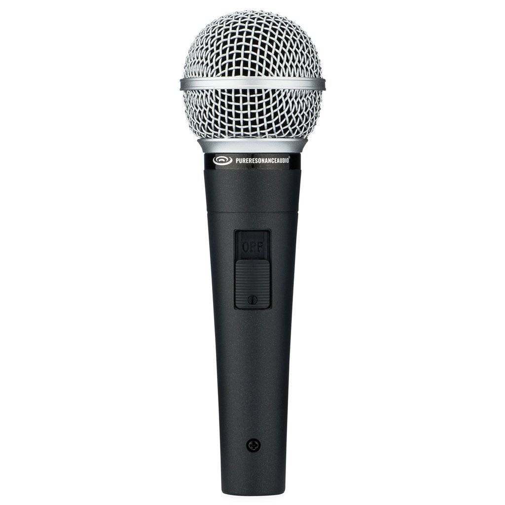 Pure Resonance UC1S Dynamic Vocal Microphone with On/Off Switch