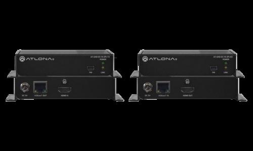 Atlona AT-UHD-EX-70-2PS 4K/UHD HDMI Over HDBaseT Transmitter/Receiver Kit