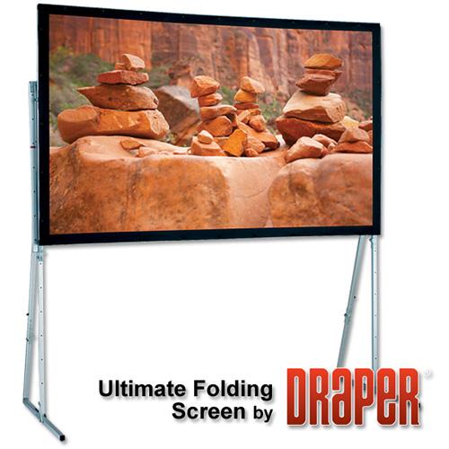 Draper 241038 Ultimate Folding Screen with Heavy-Duty Legs