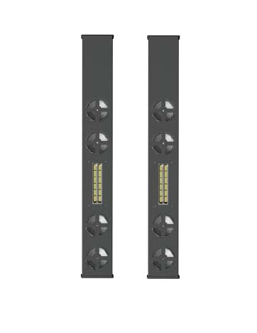 Innovox Powered Flex Focus FF-V2mp Line Array Pair for 50-65in. Displays