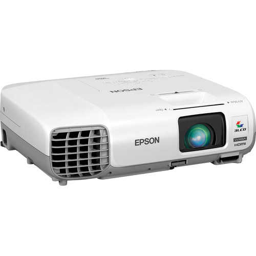Epson PowerLite 965H 3500lm XGA 3LCD Projector, Refurbished