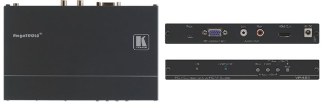 Kramer VP-425 Computer Graphics Video & HDTV to HDMI ProScale Digital Scaler