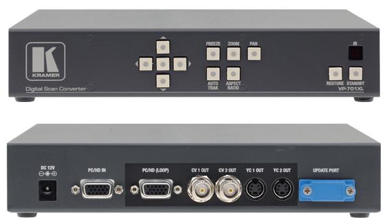 Kramer VP-701XL Computer Graphics Video & HDTV Scan Converter