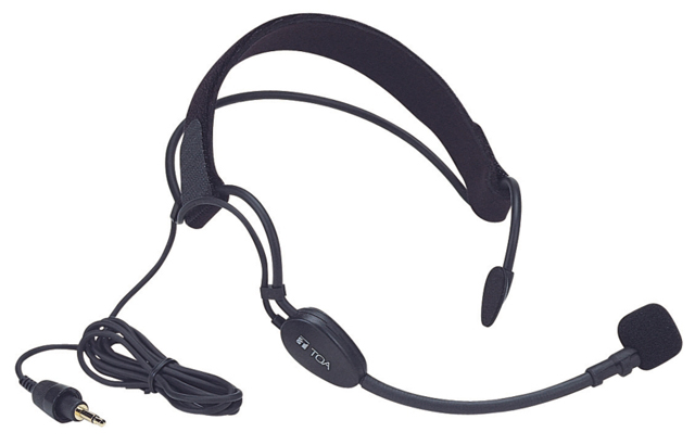 TOA WH-4000A Aerobics Headworn Mic for the WM-4310 Bodypack Transmitter