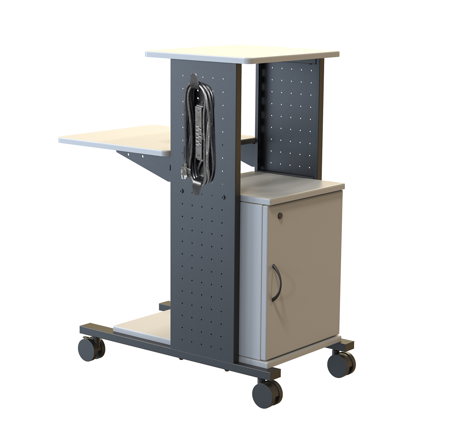 Luxor WPS4CE 40in. Presentation Station- Cabinet & Electric