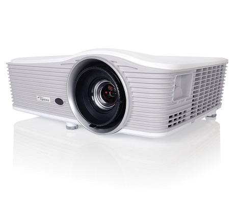 Optoma EH515T 5500lm Full HD DLP Projector w/ HDBaseT, Refurbished