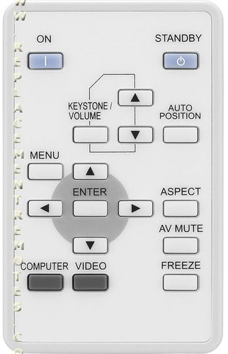 Mitsubishi XD211REM Projector Remote Control for XD211U