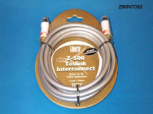 Liberty Z500NTOS4 4ft Z500 TOSLINK Optical Audio Cable