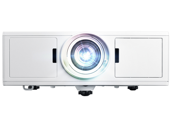 Optoma ZU500TST-W 5000lm WUXGA Short-Throw DLP Laser Projector - OPEN BOX
