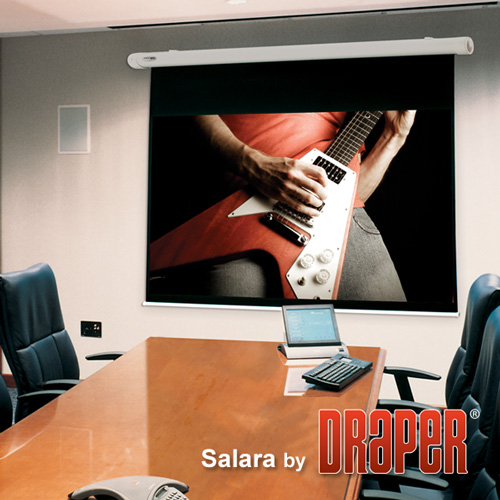 Draper 132213 Salara/HW Motorized Projection Screen 100in