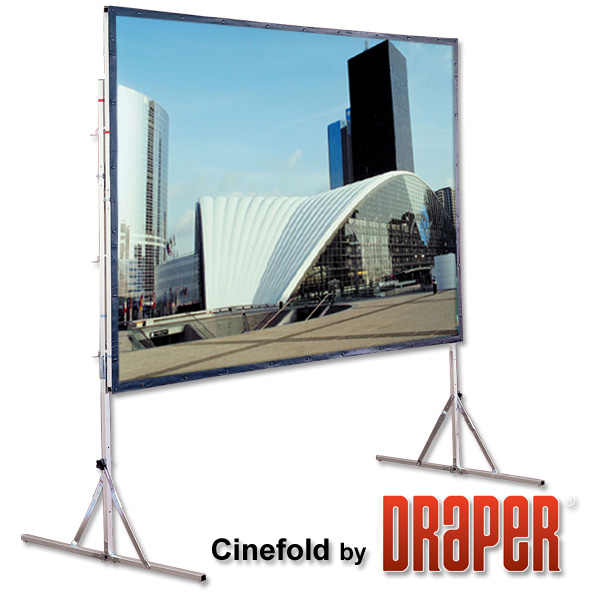 Draper 218008 72in. Cinefold Complete Portable 4:3 Projector Screen