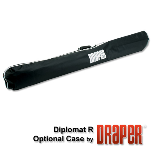 Draper 215015 Diplomat/R Portable Projection Screen72in x 96in