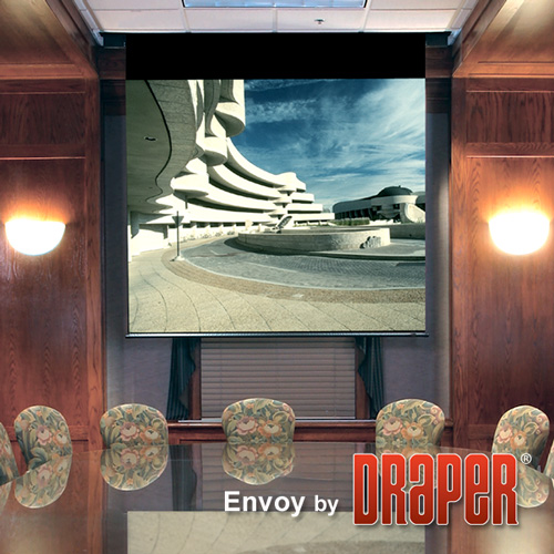Draper 112215 Envoy Motorized Front Projection Screen 92in