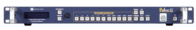 Analog Way PLS200 Pulse LE: Dual Scaler