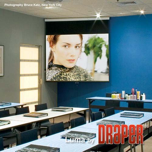 Draper 207205 Luma Manual Projection Screen 100in