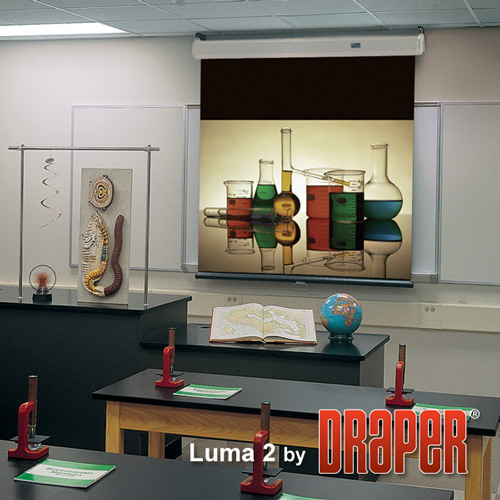 Draper 206160 Luma 2 Manual Projection Screen w/ Auto Return 161in