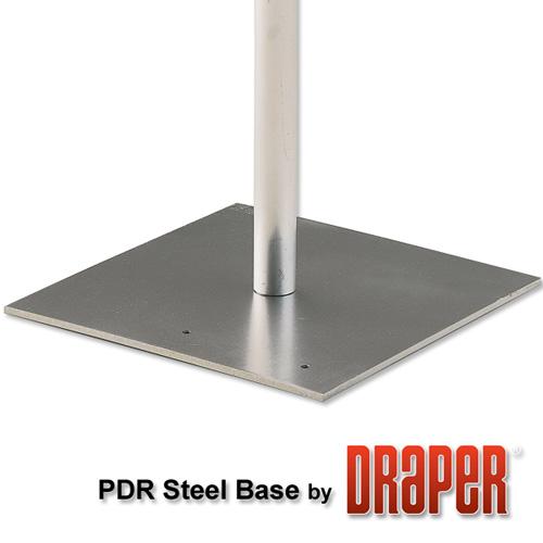Draper Flat Steel Base - 18 x 18 x 3/8in.
