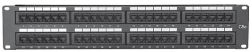 Comprehensive PP48P5E 48 port Cat5e patch panel