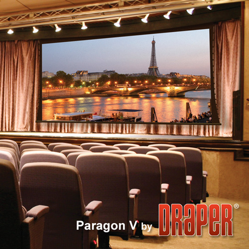Draper 114613 Paragon/V Motorized Projection Screen 270in