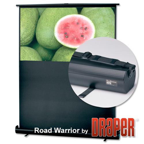 Draper 230006 RoadWarrior Portable Projection Screen 73in