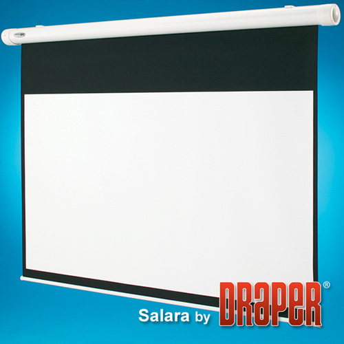 Draper 136202 Salara Plug & Play Motorized Projection Screen 109in