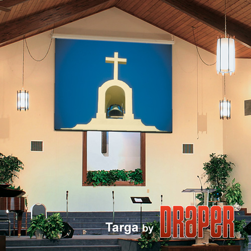 Draper 116180Q Targa Motorized Projection Screen 84in x 84in