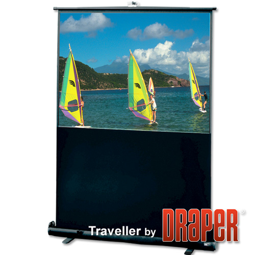 Draper 230120 Traveller Portable Projection Screen 92in
