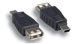 Comprehensive USBAF-MB5M USB A Female To Mini B 5Male Adapter