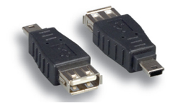 Comprehensive USBAF-MCBM USB A Female To Micro B Male Adapter