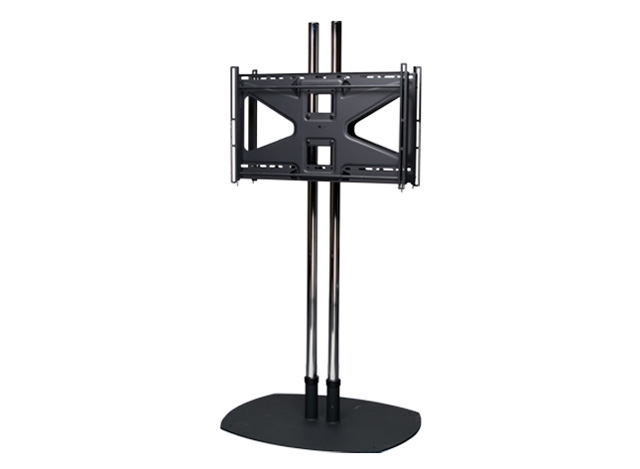 Premier Mounts CS722MS2 Dual Pole Floor Stand w/ Back-to-Back Adapter